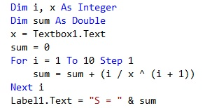Task 2 - Sum of numbers