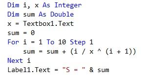 Task 2 - Sum of numbers